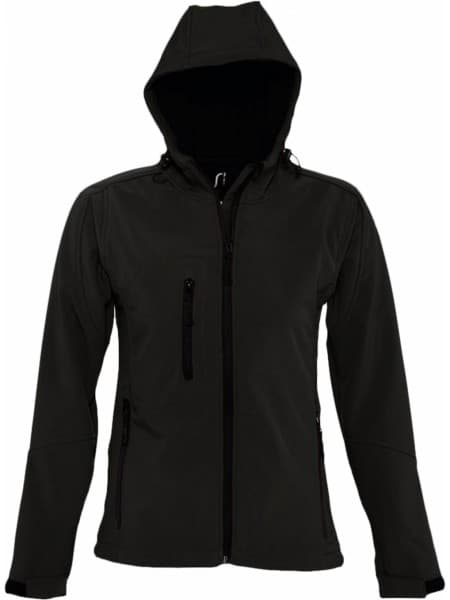 Куртка женская с капюшоном Replay Women, черная