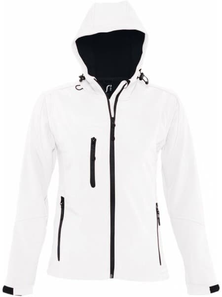 Куртка женская с капюшоном Replay Women, белая