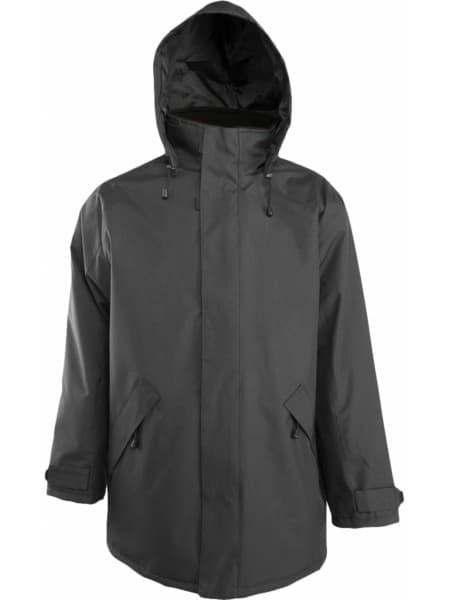 Куртка на стеганой подкладке River, темно-серая