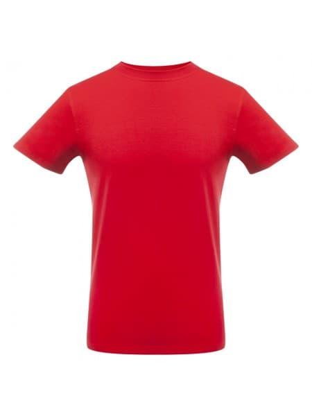 Футболка мужская T-bolka Stretch, красная