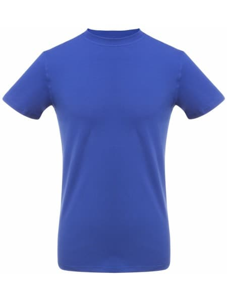 Футболка мужская T-bolka Stretch, ярко-синяя (royal)