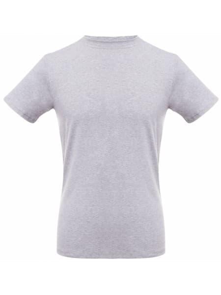 Футболка мужская T-bolka Stretch, серый меланж