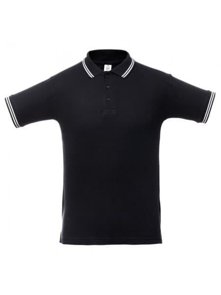 Рубашка поло Virma Stripes, черная