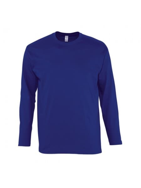 Футболка мужская с длинным рукавом MONARCH, синий ультрамарин