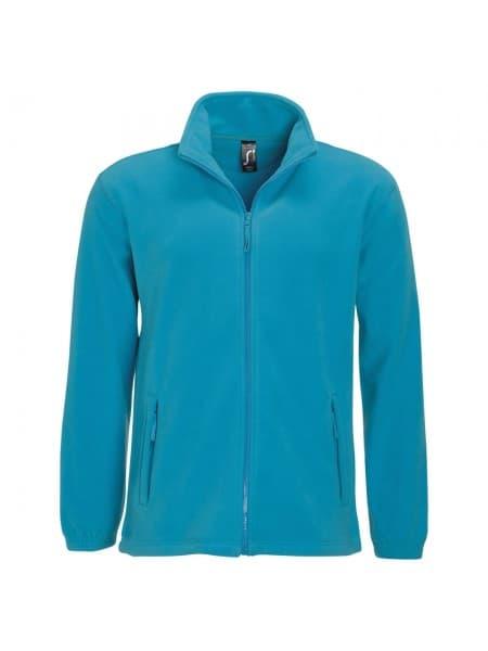 Куртка мужская North 300, ярко-бирюзовая
