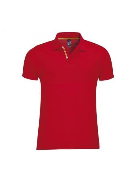 Рубашка поло мужская PATRIOT 200, красная