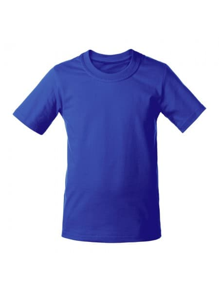 Футболка детская T-Bolka Kids, ярко-синяя