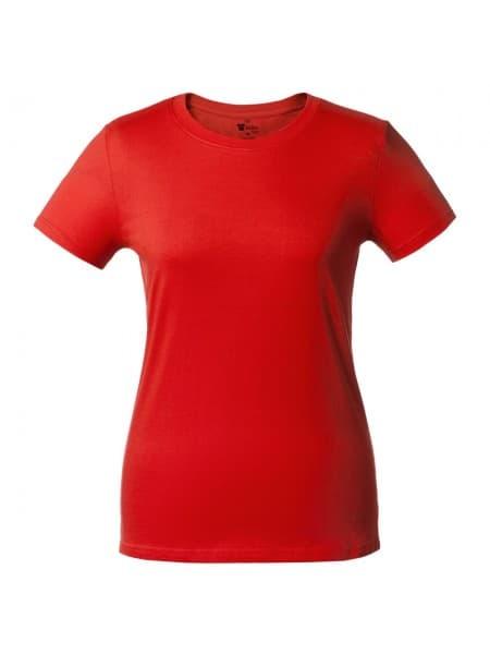 Футболка женская T-bolka Lady, красная
