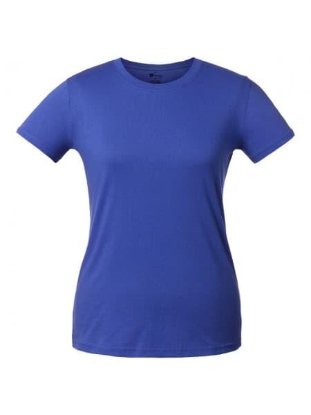 Футболка женская T-bolka Lady, ярко-синяя