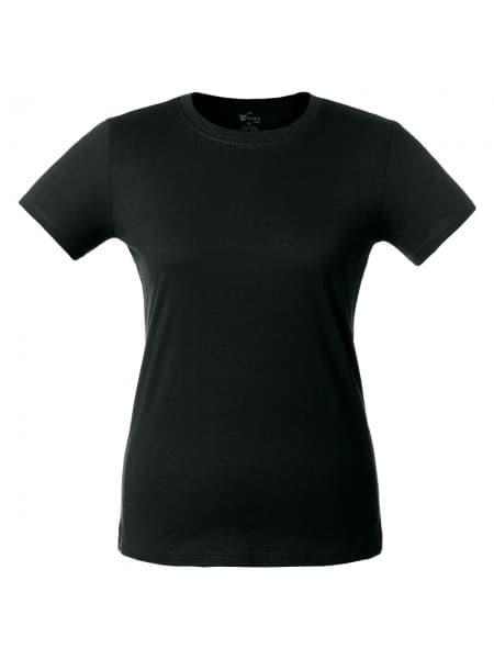 Футболка женская T-bolka Lady, черная