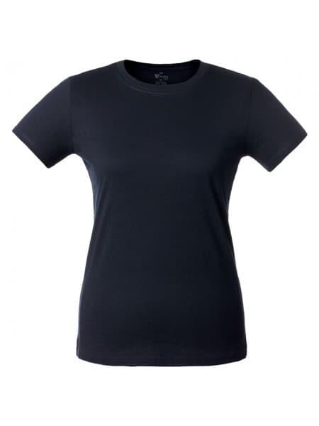 Футболка женская T-bolka Lady, темно-синяя
