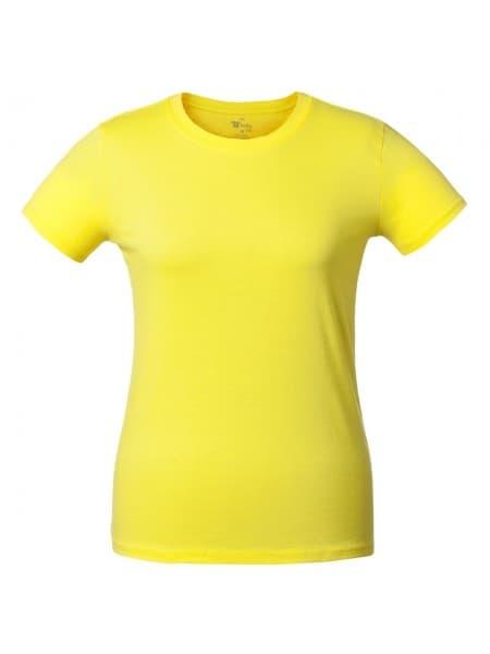 Футболка женская T-bolka Lady, желтая