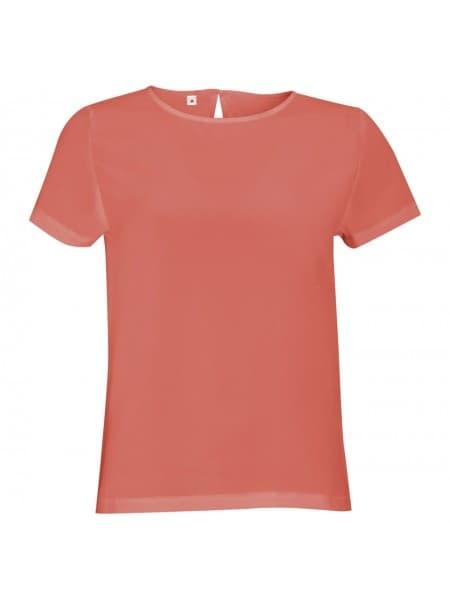 Рубашка BRIDGET розовая (коралловая)