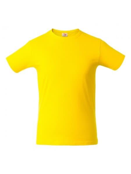 Футболка мужская HEAVY, желтая