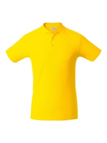 Рубашка поло мужская SURF, желтая