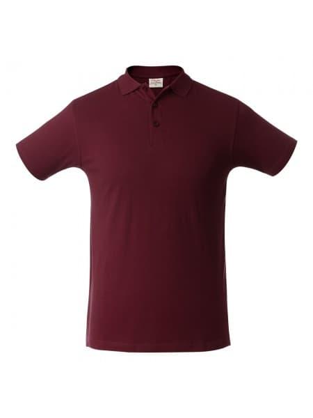 Рубашка поло мужская SURF, бордовая