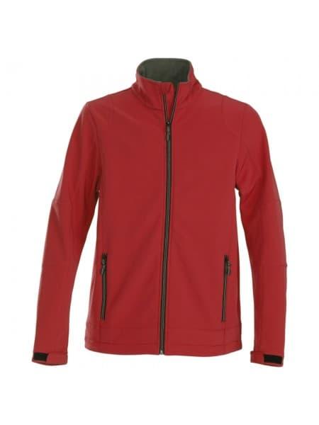 Куртка софтшелл мужская TRIAL, красная