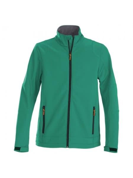 Куртка софтшелл мужская TRIAL, зеленая