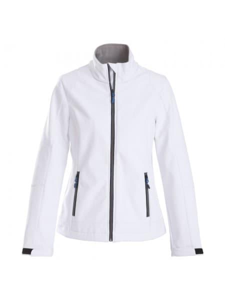 Куртка софтшелл женская TRIAL LADY, белая