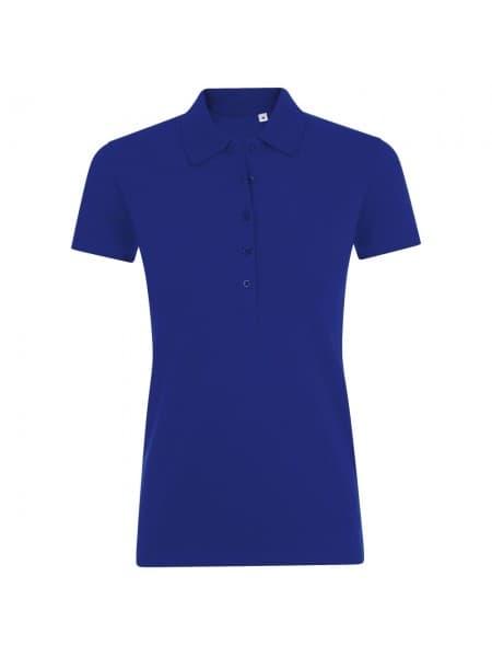 Рубашка поло женская PHOENIX WOMEN, синий ультрамарин