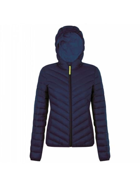 Куртка пуховая женская RAY WOMEN, темно-синяя