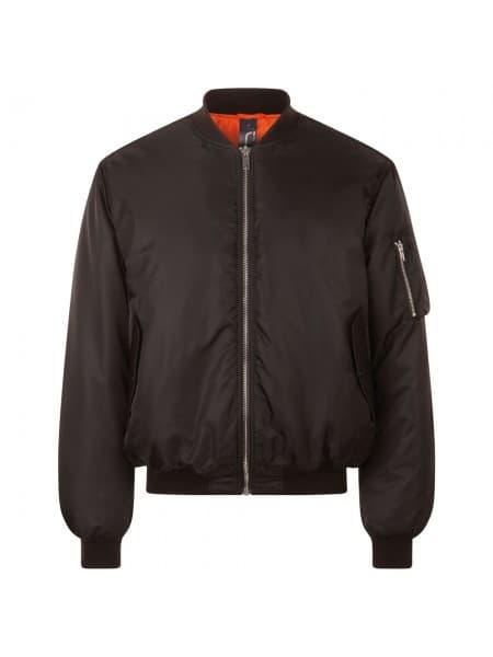 Куртка бомбер унисекс REMINGTON, черная
