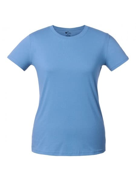 Футболка женская T-bolka Lady, голубая