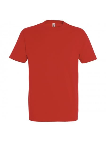 Футболка IMPERIAL 190, красная (гибискус)