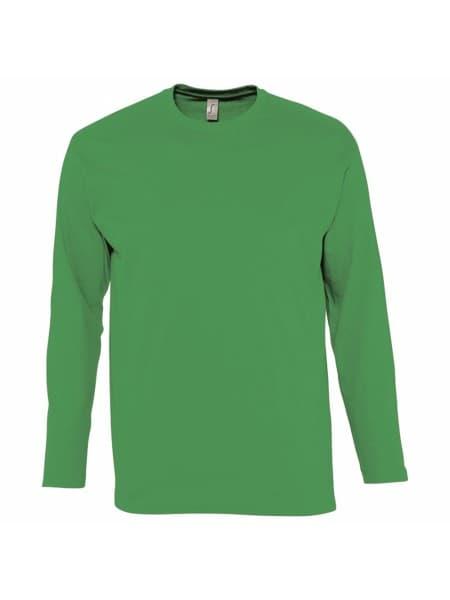 Футболка с длинным рукавом MONARCH 150, ярко-зеленая