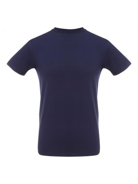 Футболка мужская T-bolka Stretch, кобальт (темно-синяя)
