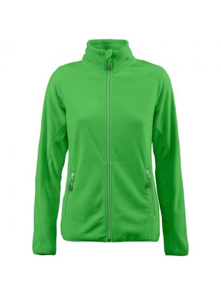 Куртка флисовая женская TWOHAND зеленое яблоко