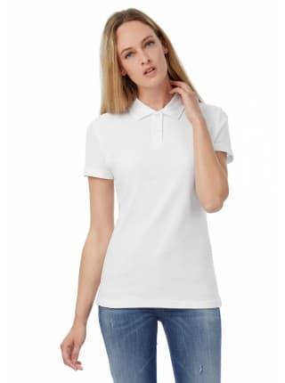 Рубашка поло женская ID.001 белая
