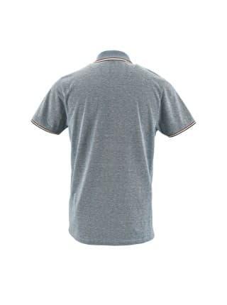 Рубашка поло мужская PANAME MEN, голубой меланж