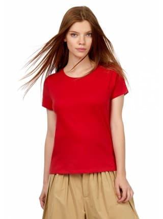 Футболка женская E150 красная