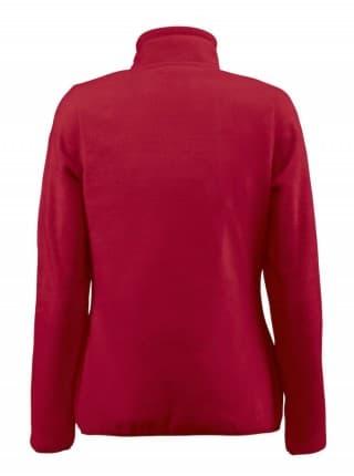 Толстовка флисовая женская Frontflip красная