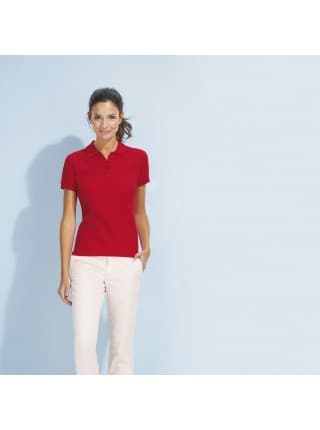 Рубашка поло женская PASSION 170, оранжевая