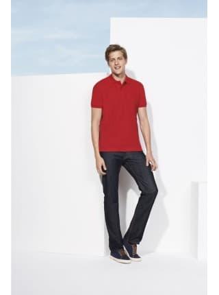 Рубашка поло мужская SPIRIT 240, красная
