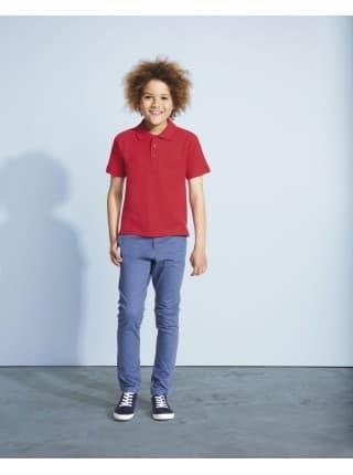 Рубашка поло детская Summer II Kids 170, белая