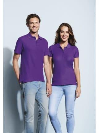 Рубашка поло мужская SUMMER 170, темно-фиолетовая