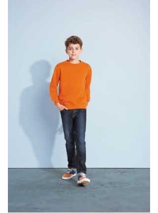 Толстовка детская New Supreme Kids 280, оранжевая