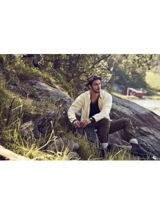 Куртка флисовая мужская LANCASTER, темно-синяя