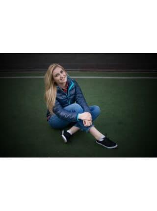 Куртка пуховая женская Tarner Lady, темно-синяя