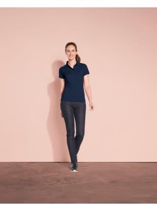 Рубашка поло женская PRIME WOMEN 200 ярко-синяя