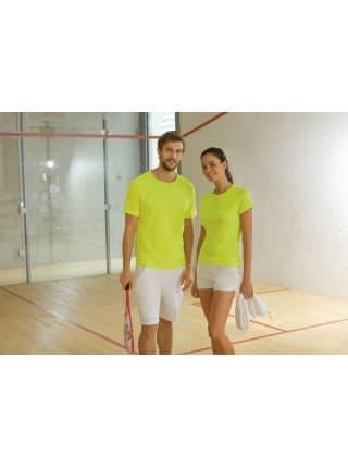 Футболка унисекс SPORTY 140, лимонно-желтая