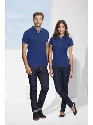 Рубашка поло женская PORTLAND WOMEN 200 темно-синяя